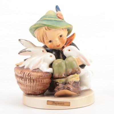 """Goebel Hummel """"Playmates"""" Porcelain Figurine, 1960–1972"""