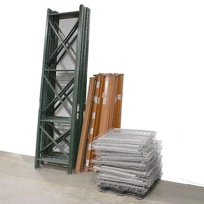 Ridg-U-Rak Industrial Pallet Racks 14' Tall