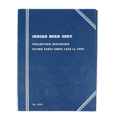 Whitman Binder of Indian Head Cents, 1864 to 1907