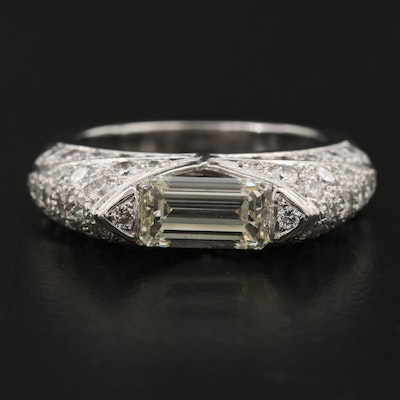 Platinum 3.18 CTW Diamond Ring