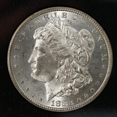 GSA Uncirculated 1883-CC Morgan Silver Dollar