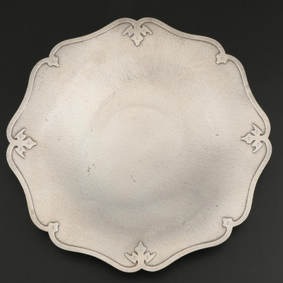 "Shreve & Co. ""Fourteenth Century"" Sterling Silver Cake Plate, Early 20th Century"