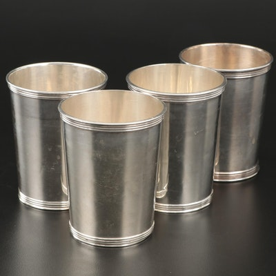Manchester Silver Co. Sterling Mint Julep Cups