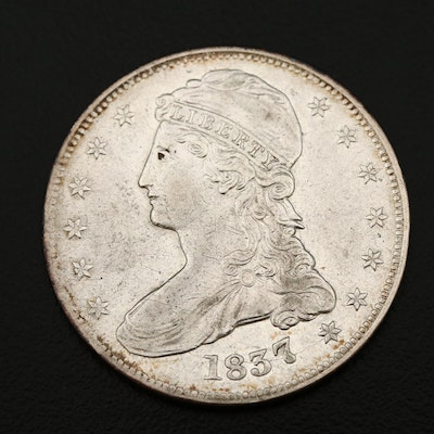 1837 Capped Bust Half Dollar (Reeded Edge)