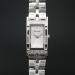 Bulova Tank Style Diamond Quartz Wristwatch