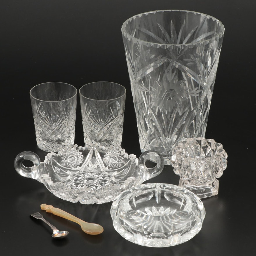 Cut and Pressed Glass Tableware