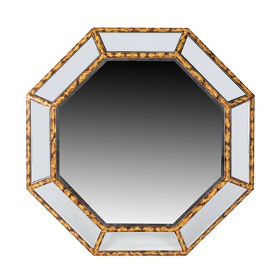 Contmporary Octagonal Shaped Dimensional Wall Mirror