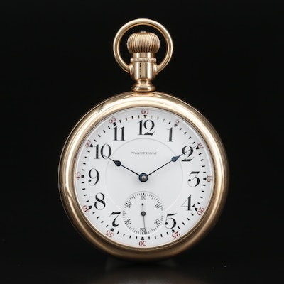 1907 Waltham Gold Filled Pocket Watch