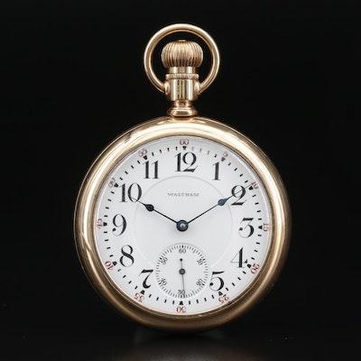 1907 Waltham Gold Filled Pocket Watch