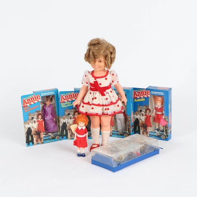 """""""Shirley Temple"""", """"Little Orphan Annie"""" and """"Penny Brite"""" Dolls, 1970s-1980s"""