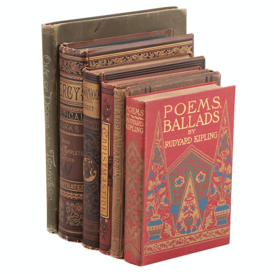 """Reliques of Ancient English Poetry"" by Percy with Others, Late 19th Century"