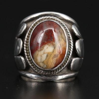 Cortez Sterling Silver Jasper Ring