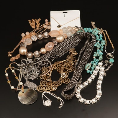 Selection of Jewelry Featuring AlFani, Chaps and Lisner