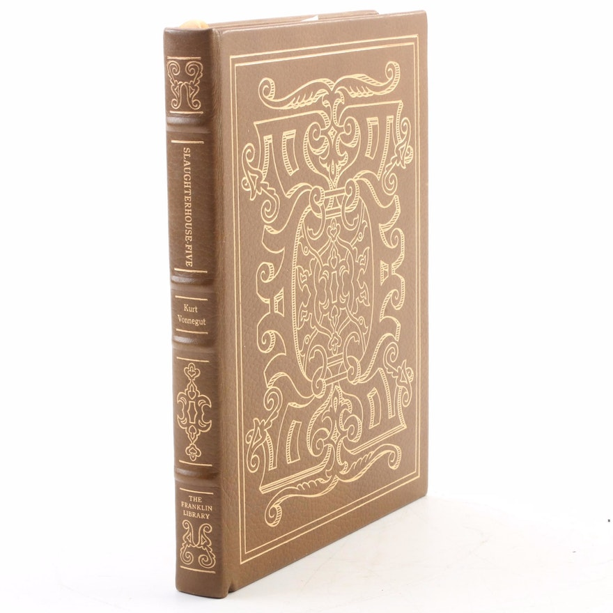 "Signed Franklin Library Edition ""Slaughterhouse-Five"" by Kurt Vonnegut, 1978 COA"