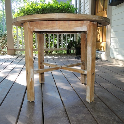 Rockwood Teak Patio Side Table