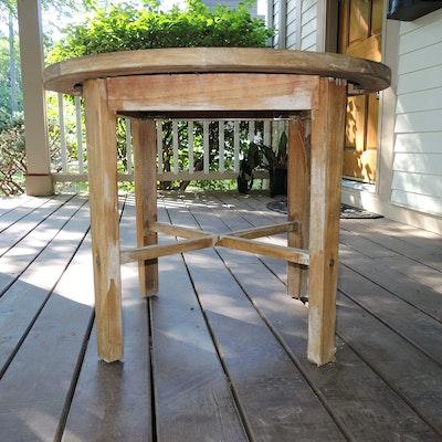 Rockwood Teak Patio Side Table