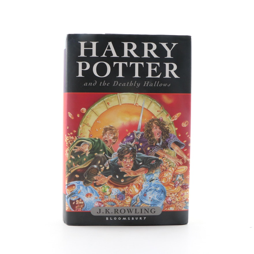 "First UK Printing ""Harry Potter and the Deathly Hallows"" by J. K. Rowling, 2007"
