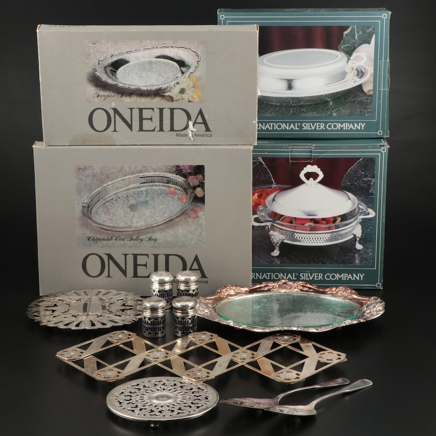 Oneida, Wallace, International Silver Company and Other Silver Plated Items
