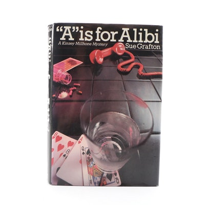 "Signed First Edition ""'A' is for Alibi"" by Sue Grafton, 1982"