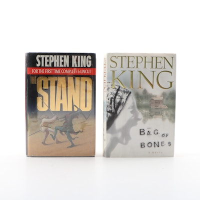 "First Printings ""Bag of Bones"" and ""The Stand: Complete & Uncut"" by Stephen King"