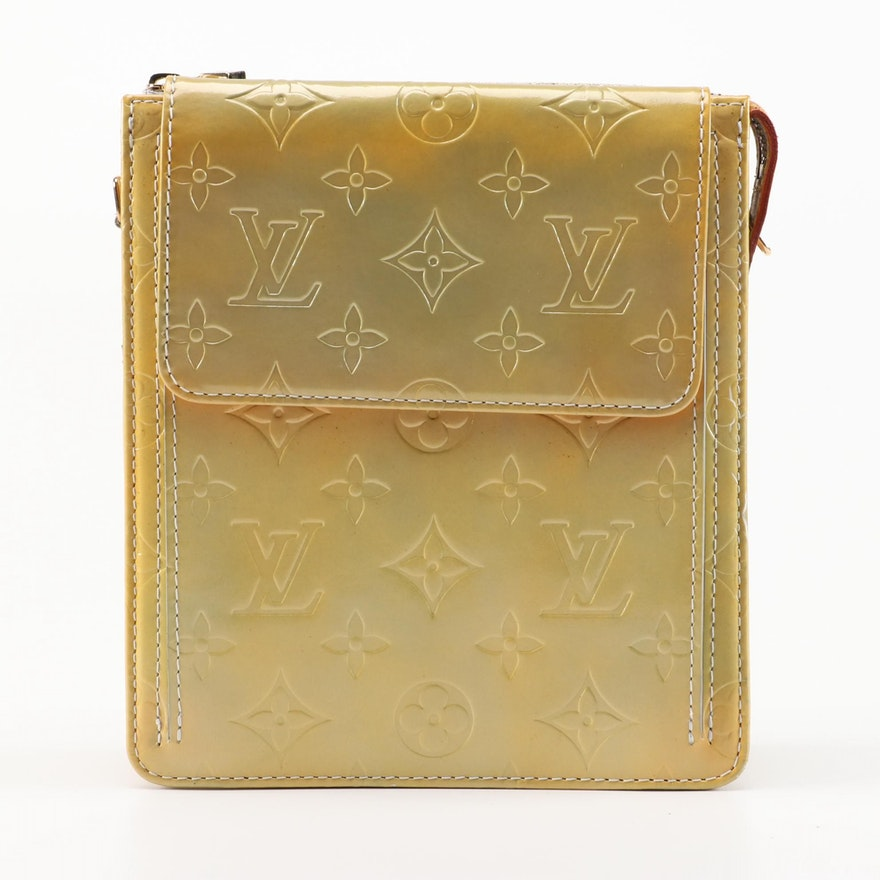 Louis Vuitton Paris Mott Mini Shoulder Bag in Monogram Vernis
