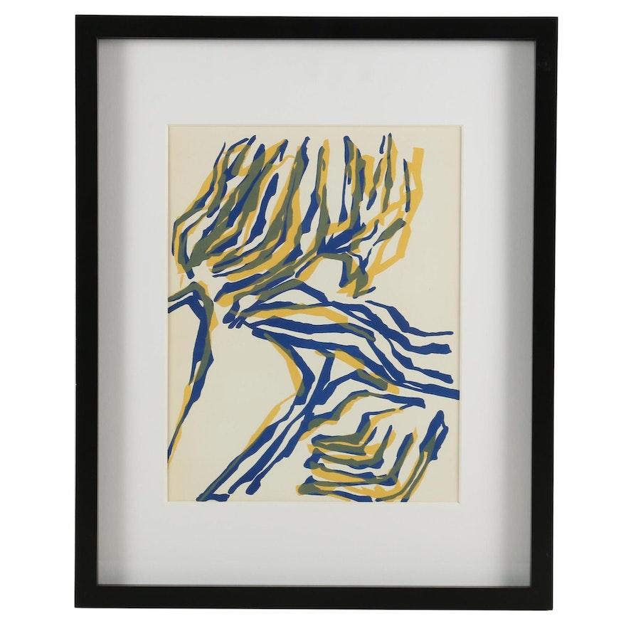 """Raoul Ubac Color Lithograph for """"Derrière le Miroir"""", 1964"""