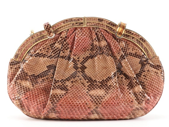 Luxury Goods Featuring A Collection of Judith Leiber Handbags