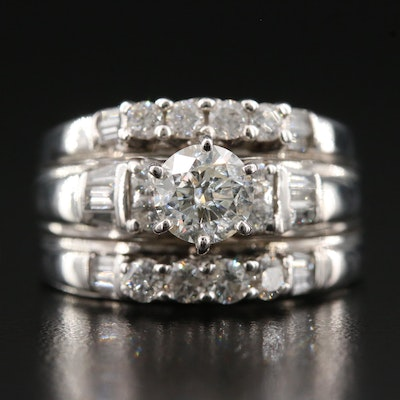 14K 2.02 CTW Diamond Ring