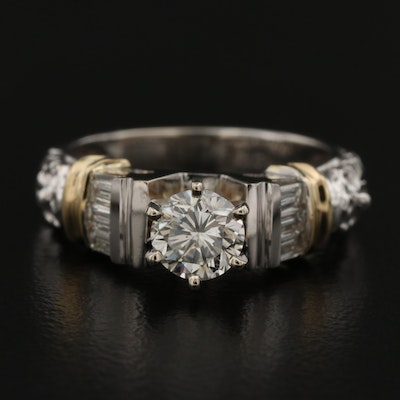 14K 1.20 CTW Diamond Ring