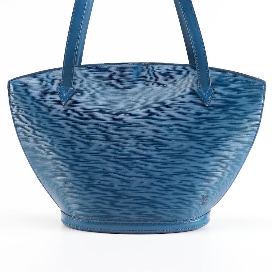 Louis Vuitton Saint-Jacques Bag in Toledo Blue Epi Leather
