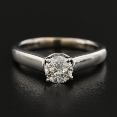 14K 0.80 CT Diamond Solitaire Ring