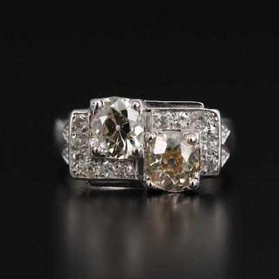 14K 2.57 CTW Diamond Ring