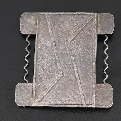 Modernist Geometric Brooch
