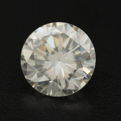 Loose Lab Grown 5.85 CT Round Faceted Moissanite