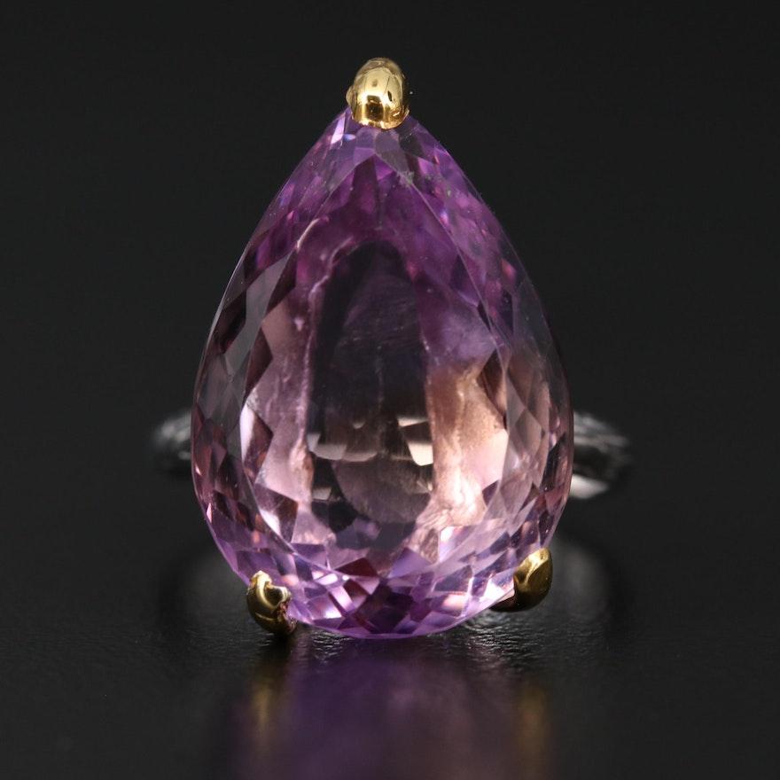 Sterling Silver Amethyst Ring