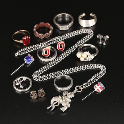 Mixed Metal Jewelry Assortment
