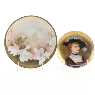 Reinhold Schlegelmilch and Other Hand-Painted Porcelain Plate