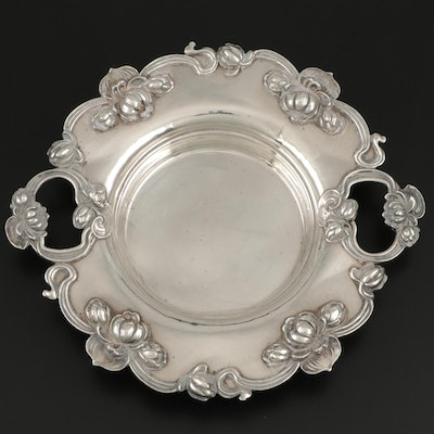 William B. Kerr & Co. Art Nouveau Sterling Silver Bonbon Bowl, Early 20th C.