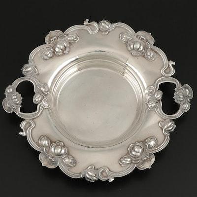 William B. Kerr & Co. Art Nouveau Sterling Silver Bonbon Bowl, Early 20th C.
