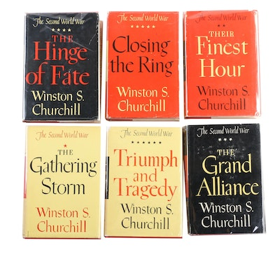 """The History of the Second World War"" by Winston Churchill, Complete Set"