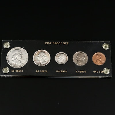 1952 Proof Coin Set