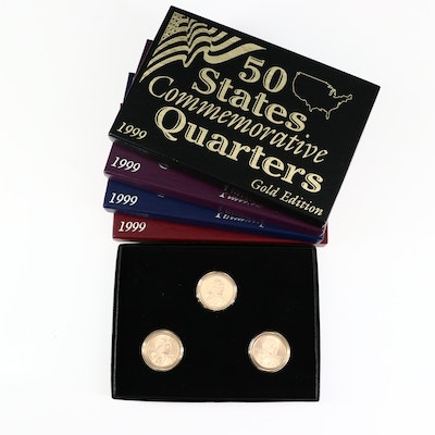 1999 State Commemorative Quarters Sets and 2003 Native American Dollars