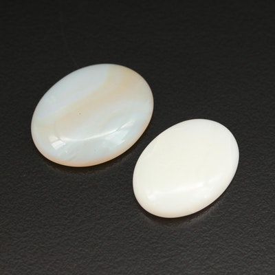 Loose Agate and Opal Cabochons