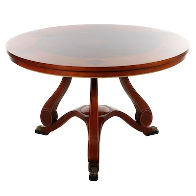 Chad Womack for John Widdicomb Russian Collection Center Table
