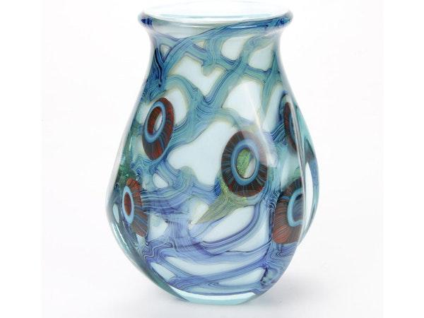 Contemporary Art & Robert Eickholt Handblown Art Glass