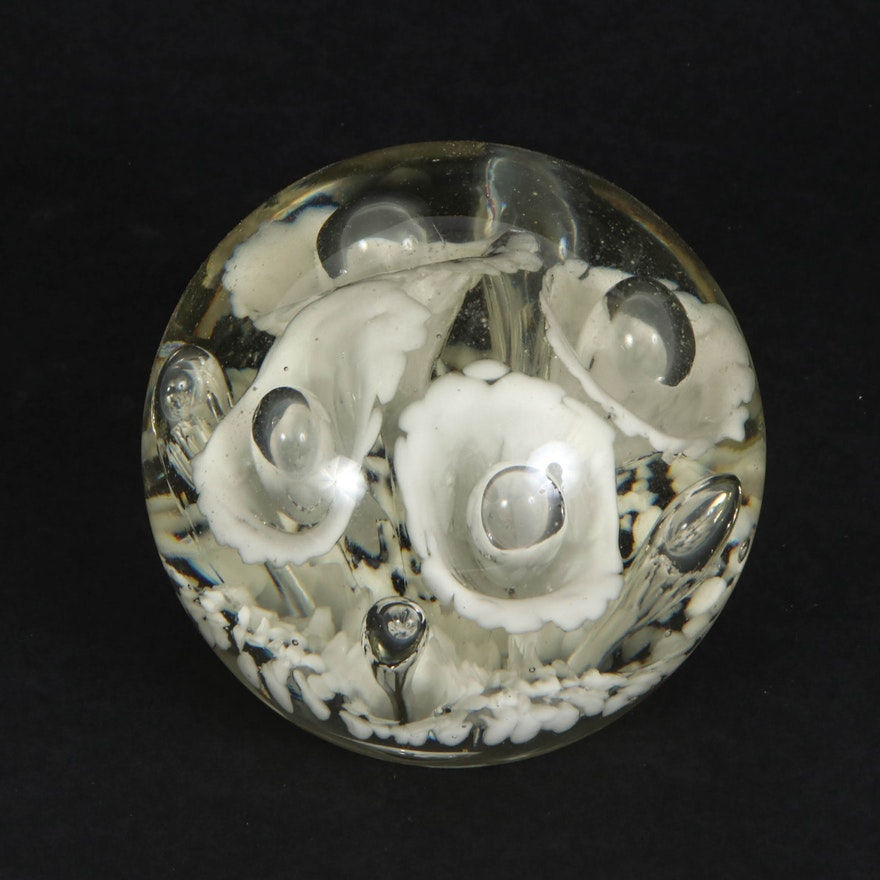 Handblown Art Glass Paperweight