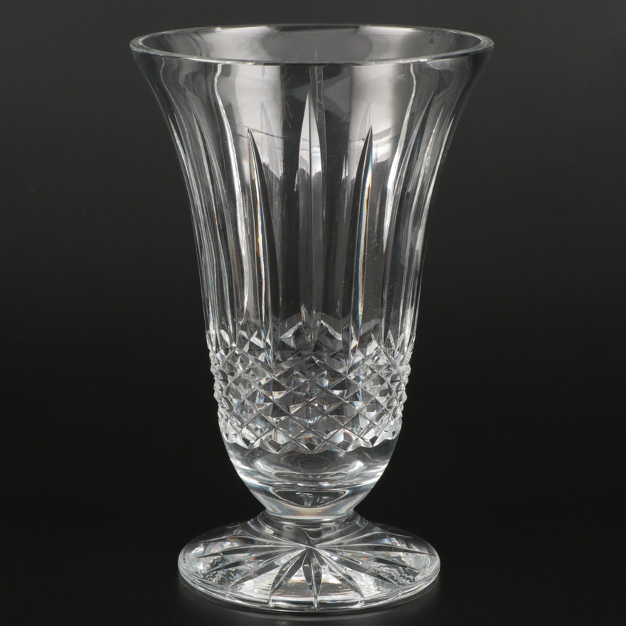 "Waterford Crystal ""Lismore"" Flared Vase"