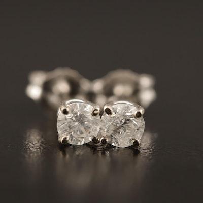 14K 0.61 CTW Stud Earrings