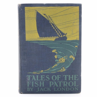 "First Printing ""Tales of the Fish Patrol"" by Jack London, 1905"