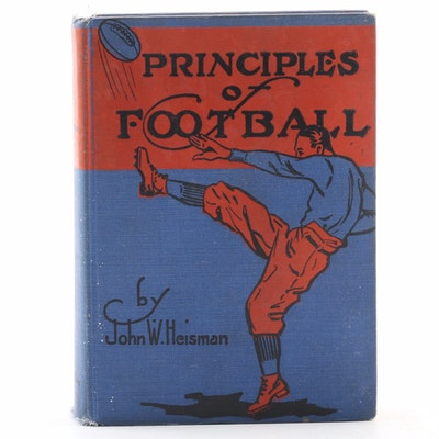 "Second Edition ""Principles of Football"" by John W. Heisman, 1922"